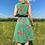 Thumbnail: Green Floral Midi Dress