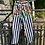 Thumbnail: Floral Striped Vintage Jeans