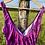 Thumbnail: Vintage Purple Floral Swimsuit