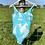 Thumbnail: Vintage Blue Floral Swimsuit
