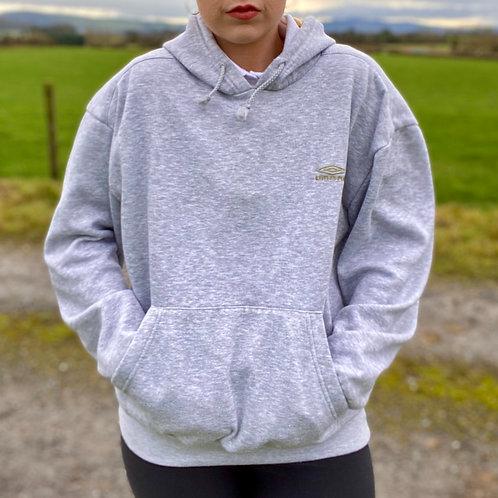 Grey Vintage Umbro Hoodie