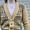 Thumbnail: Vintage Funky Knit Cardigan