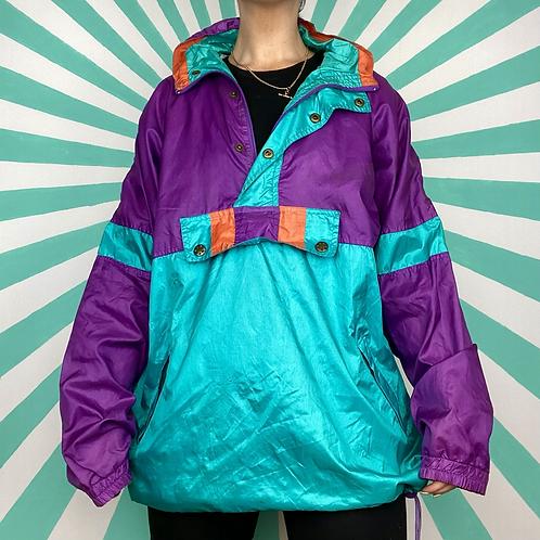 Blue Funky Rain Jacket
