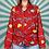 Thumbnail: Red Retro Blouse