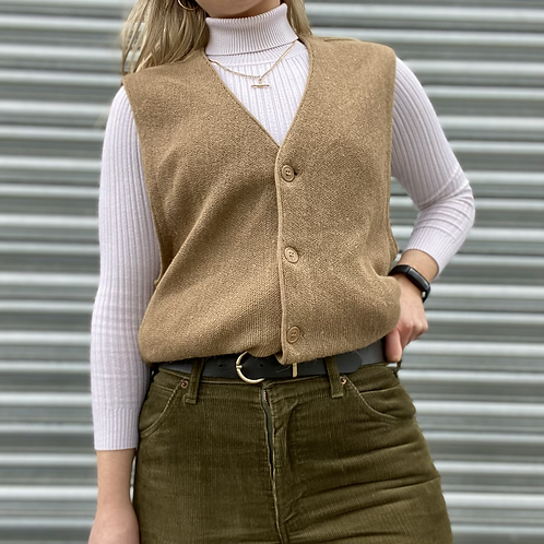 Irish Vintage Knit Vest