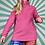 Thumbnail: Pink Half-Zip Fleece