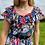 Thumbnail: Blue Floral Midi Dress