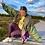 Thumbnail: Khaki Retro Windbreaker