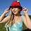 Thumbnail: Vintage Red Bucket Hat