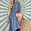 Thumbnail: Vintage Denim Buttoned Dress