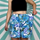 Thumbnail: Vintage Blue Floral Shorts
