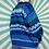 Thumbnail: Blue Funky Knit Jumper