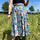 Thumbnail: Blue Floral Midi Skirt
