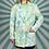 Thumbnail: Blue Floral Summer Blazer