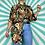 Thumbnail: Brown Floral Vintage Shirt