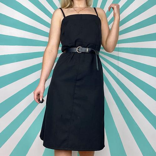 90s Black Cami Dress