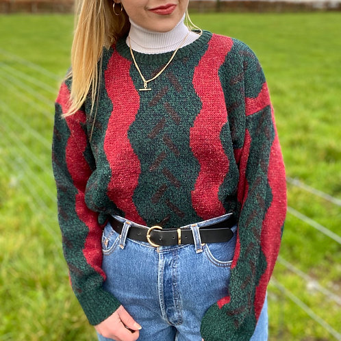 Italian Crazy Knit Sweater