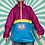 Thumbnail: Pink Funky Rain Jacket