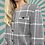 Thumbnail: Vintage Grey Cropped Blazer