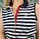 Thumbnail: Lacoste Sleeveless Navy Polo
