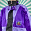 Thumbnail: Purple Funky Rain Jacket
