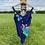 Thumbnail: Navy Floral Swimsuit
