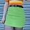 Thumbnail: Green Vintage Mini Skirt