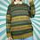 Thumbnail: Green Funky Knit Jumper