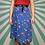 Thumbnail: Vintage Blue Midi Skirt