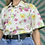 Thumbnail: White Floral Patterned Blouse