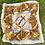 Thumbnail: Vintage Gold Silk Scarf