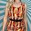 Thumbnail: Orange Retro Midi Dress