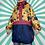Thumbnail: Navy Funky Rain Jacket