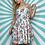 Thumbnail: White Floral Halter Dress