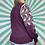 Thumbnail: Purple Patterned Knit Jumper