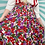 Thumbnail: Red Floral Midi Skirt