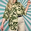 Thumbnail: Green Floral Patterned Blouse