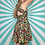 Thumbnail: Vintage Floral Summer Dress