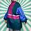 Thumbnail: Navy Vintage Rain Jacket