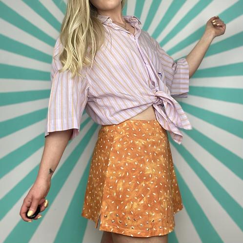 Vintage Pink Striped Shirt