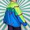 Thumbnail: Blue Retro Windbreaker