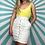 Thumbnail: White Belted Mini Skirt