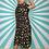 Thumbnail: Black Floral Midi Dress