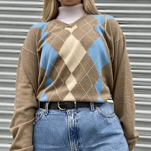 Italian Vintage Argle Sweater