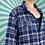 Thumbnail: Blue Chequered Vintage Shirt