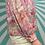 Thumbnail: Sheer Pink Floral Cardigan