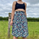 Thumbnail: Mint Floral Pleated Skirt