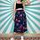 Thumbnail: Vintage Navy Floral Skirt