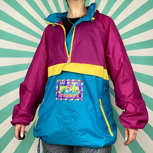 Pink Funky Rain Jacket
