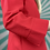 Thumbnail: Vintage Red Collared Blouse